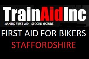 First aid training on how to administer first aid to fallen bikers.