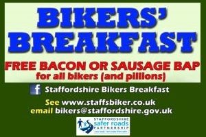 Details about the SSRP Staffordshire bikers breakfast events